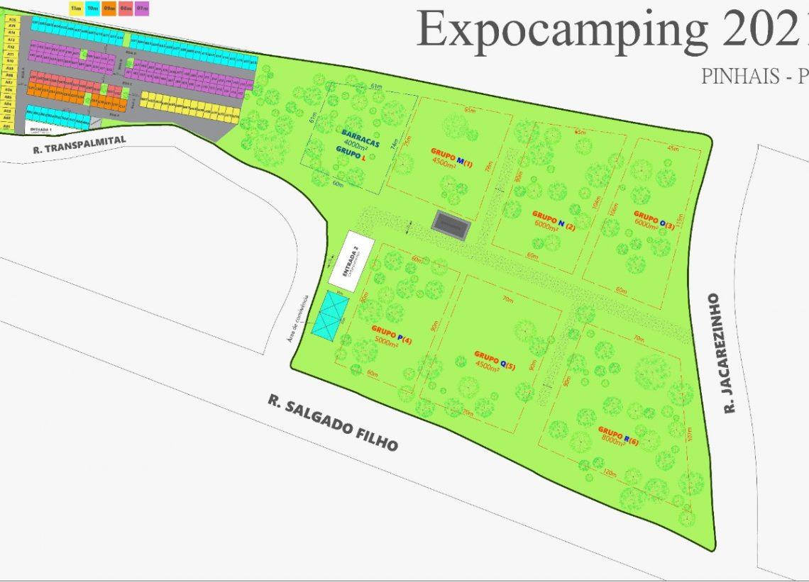 Organizadores divulgam informações sobre Expocamping
